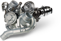 Twin VNT turbocharger